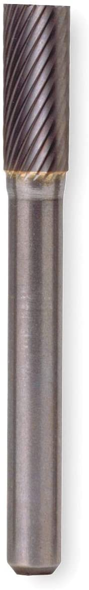 Widia Metal Removal Carbide Bur, Cylindrical, 5/8 In - M40219