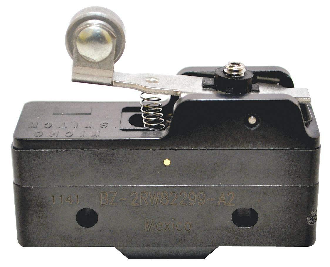 HONEYWELL S&C BZ-2RW82299-A2 BASIC SWITCH, ROLLER LEVER, SPDT, 15A, 480V
