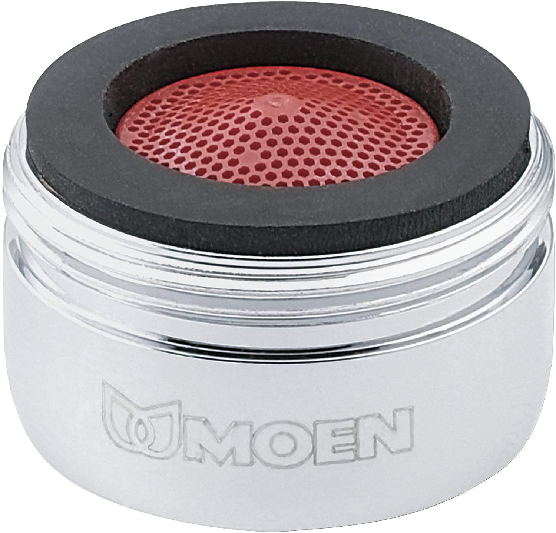 Moen 3919 2.2 GPM Male Thread Kitchen Faucet Aerator, Chrome
