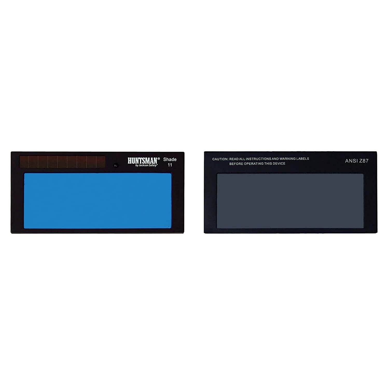 Jackson Safety Solera ADF Cartridge, Fixed Shade 11, Solar Powered, Self-Darkening, 2 x 4, 16376, SH11