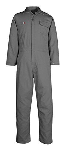 Big Bill TX1331US7-CHA-40T 7 oz Ultrasoft Econo Coverall, Tall, Chest-40, Charcoal Gray