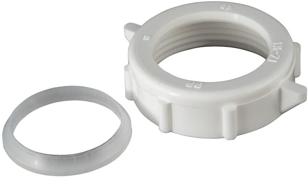 Plumb Pak PP956 Wing Nut Slip Joint 1 1/4-inch Washer, White