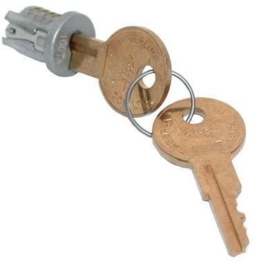 Timberline Lock Plug Satin Nickel Keyed Alike Key Number 101 (1)