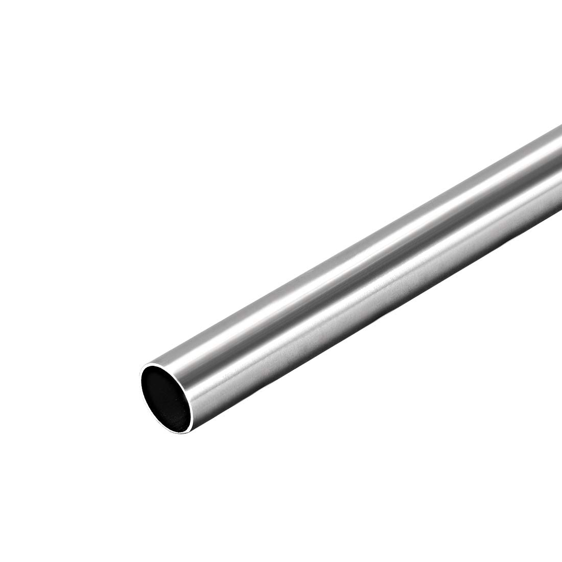 uxcell 304 Stainless Steel Round Tubing 10mm OD 0.4mm Wall Thickness 250mm Length Seamless Straight Pipe Tube