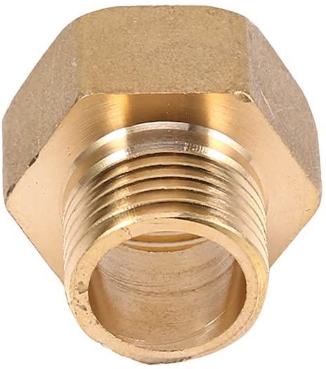 1/2Bspt Male Hose Adapter 3/4Bspt Pipe Fitting Sanitary Healthy Water Purifier Prefilter Water Softener Floor Heating for Water Meter