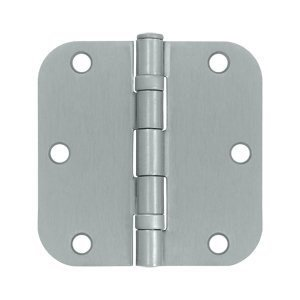 Del S35r5bb26d Us26d 3.5 X 3.5 X 5/8 In Rad Hinge