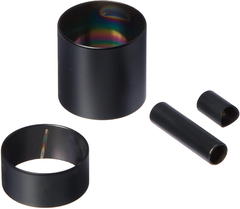 Kohler K-6798-7 Iv Georges Brass Accent Kit, Black Black