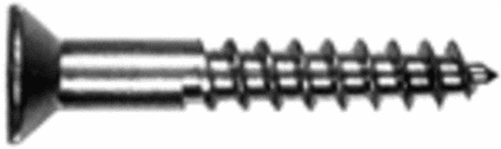 Hillman Brass Wood Screw No. 12 X 1-1/2