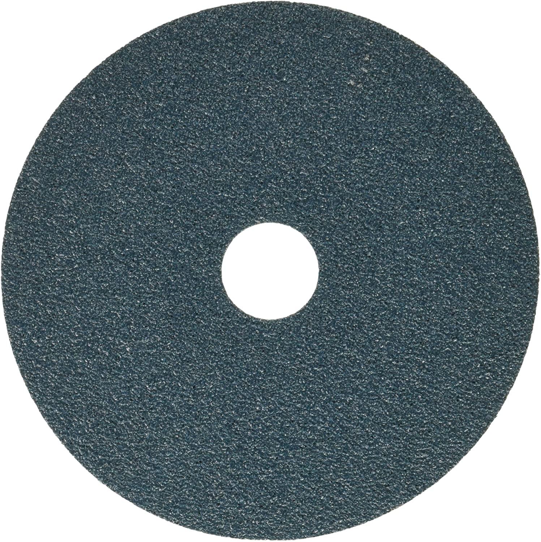 United Abrasives-SAIT 57550 Ceramic Fiber Disc, 7S 5 X 7/8, 50 Grit, 100 Per Box