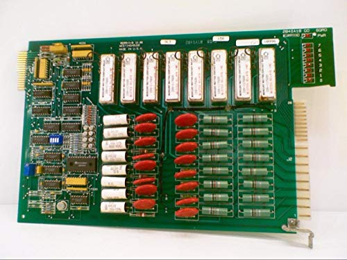 WESTINGHOUSE 2840A18G01 Relay Output Card, Discontinued by Manufacturer, Edge Card Connection, 330 VDC / 250 VAC, Card Mount