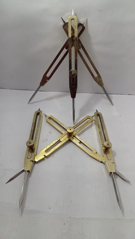 AAYAT NAUTICAL Brass Antique Drafting Tool 9