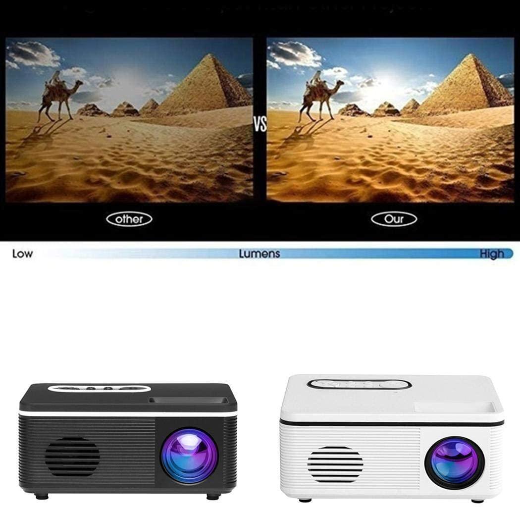Goodfans US Plug Projector Sync Display Beamer Home Media Video Player Overhead Projectors