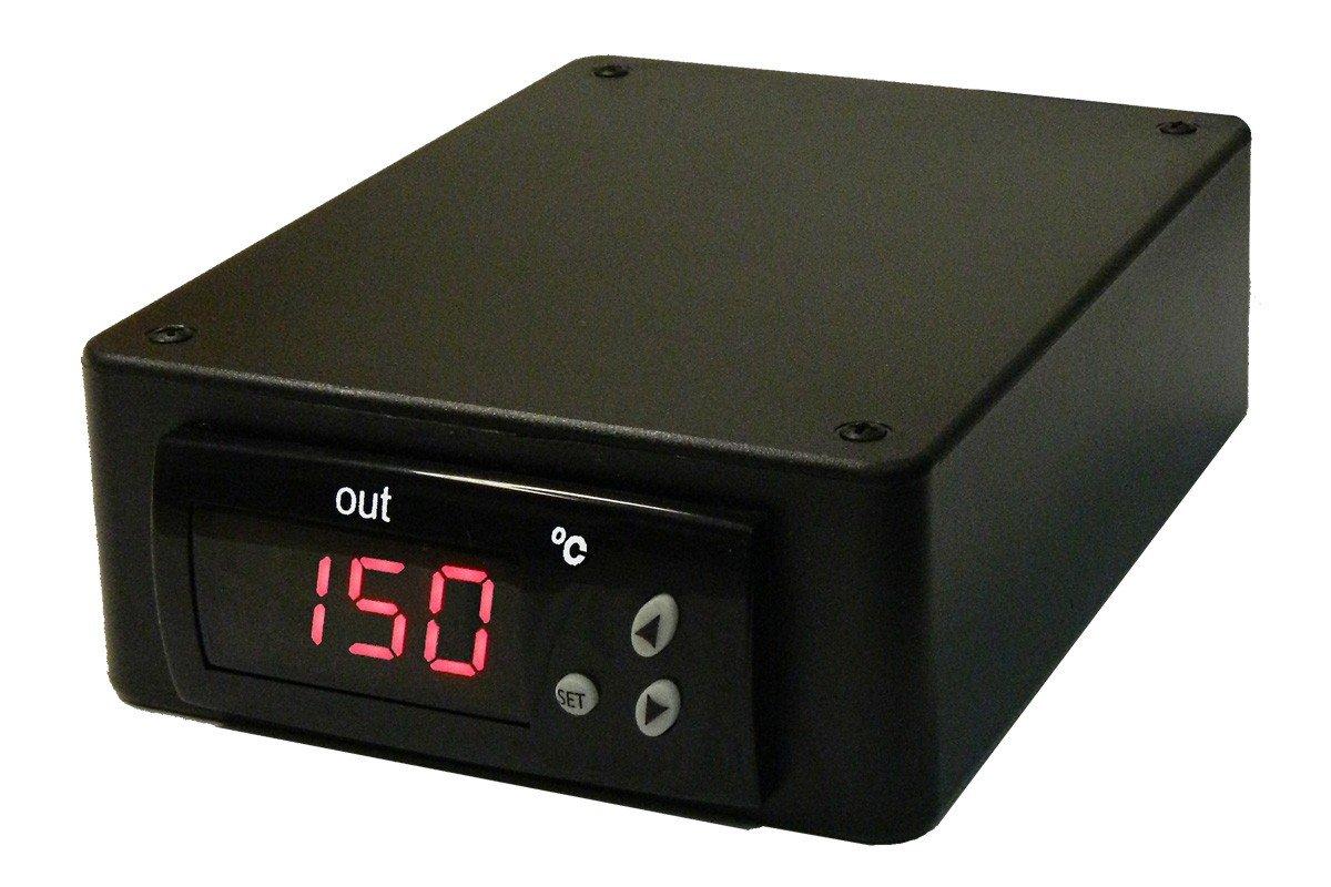 BriskHeat SDC120KC-A SDC Benchtop Temperature Controller with Digital Display, Range: 0 To 600°C, Type-K Thermocouple Sensor, Power Input/Output: 120VAC