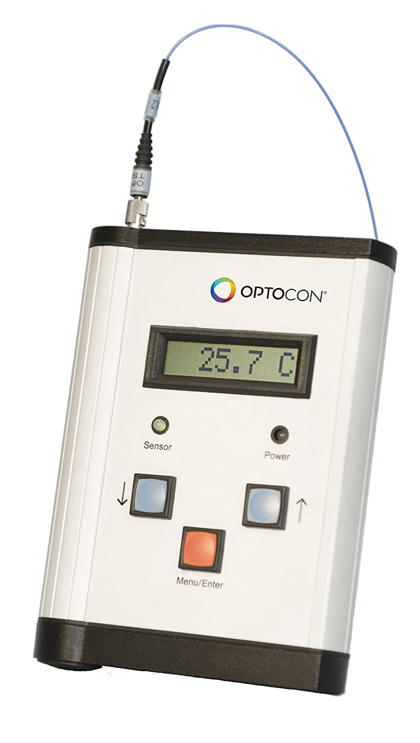Optocon - Single Channel Handheld Fiber Optic Thermometer System with TS3 sensor