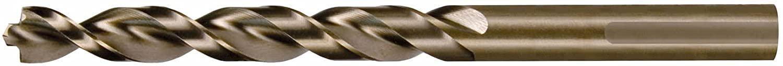 RUKO 2146100 HSS-G Twist Drill, DIN 338, Type Turbo, 10.0mm Diameter, 133.0mm Length, 84.0mm Flute Length, Pack of 10