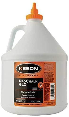 Marking Chalk Refill, Orange, 5 Lb