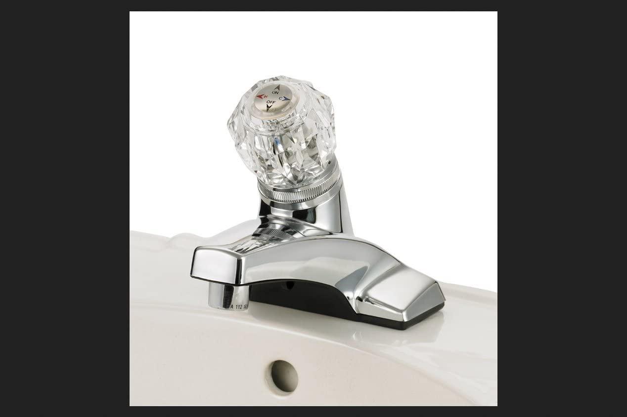 Home Plus Single Handle Lavatory Faucet Chrome (4316-CP)