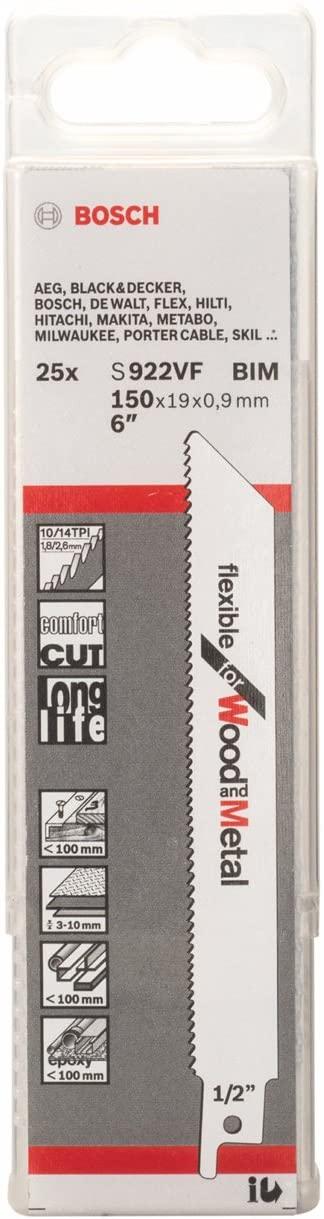 Bosch 2329851 Sabre Saw Blade, White