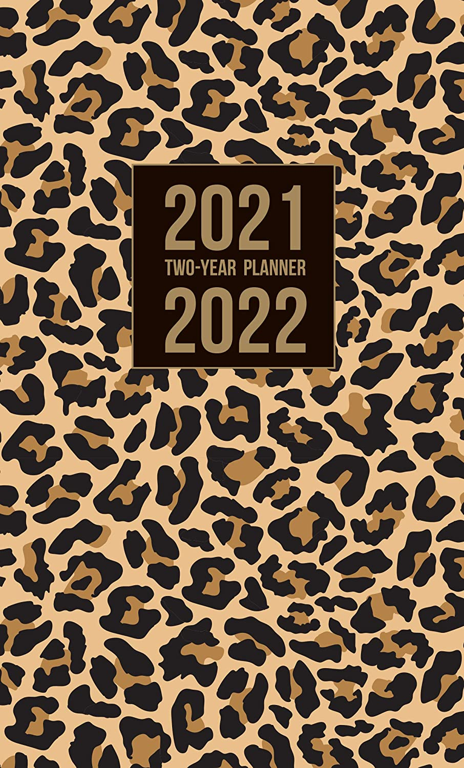 Graphique 2021 Fashion 2 Year Planner — 29-Month Planner in 4 Languages, Includes Notes, Reference Pages, Public and Culturally Significant Holidays, 3.75