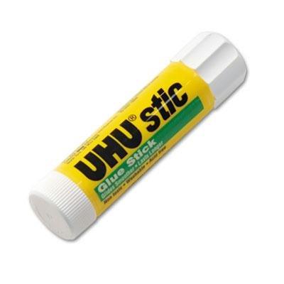 12 Pack - Uhu Stic Permanent Clear Application Glue Stick .29 Oz