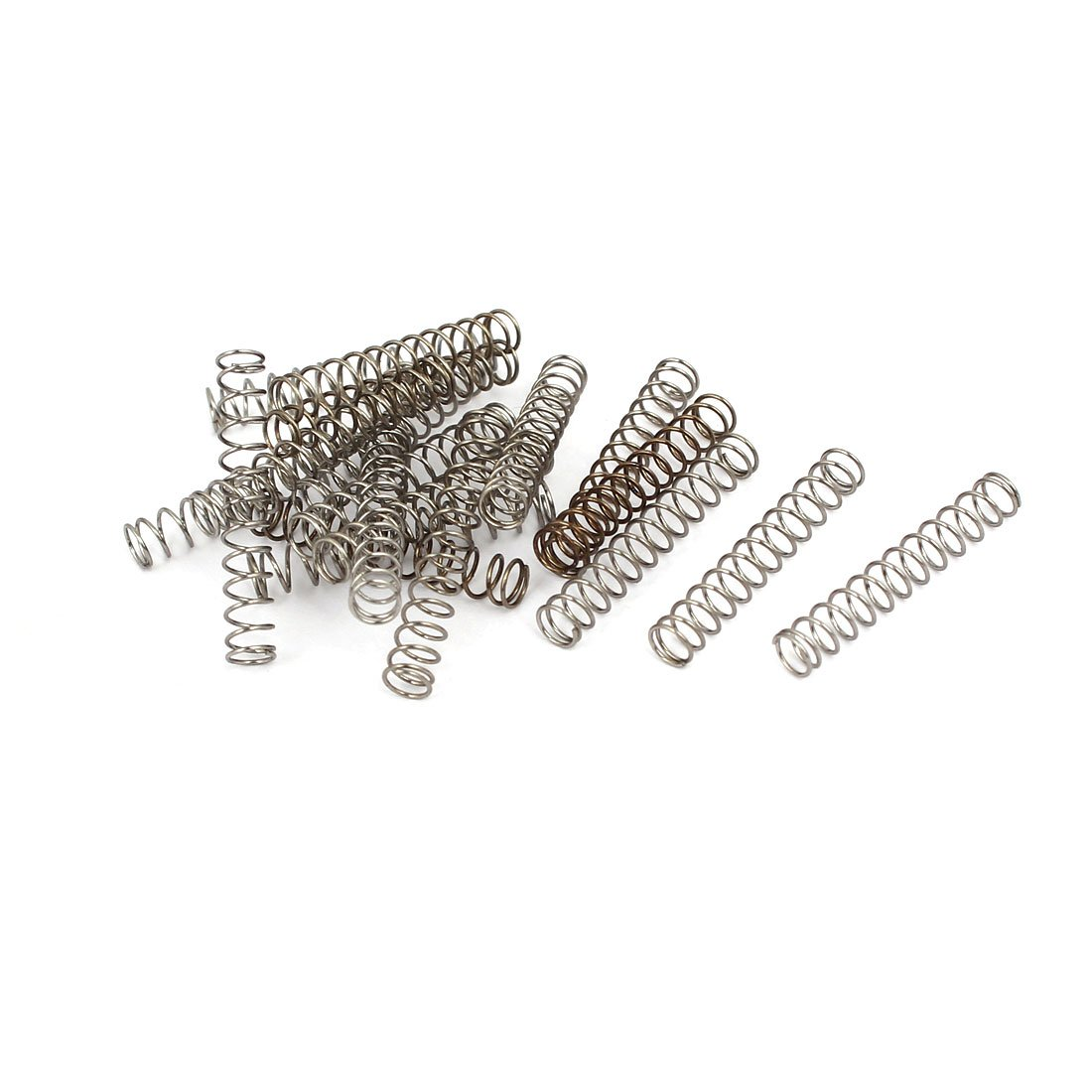 uxcell 0.4mmx4mmx25mm 304 Stainless Steel Compression Springs 20pcs