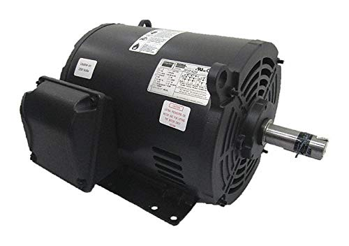 GP Motor, ODP, 10 HP, 3535 RPM, 1-3/8in Dia