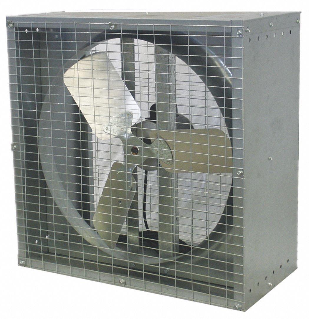 DAYTON 44YU13 Exhaust Fan, 24In,D/D,230V G1840119