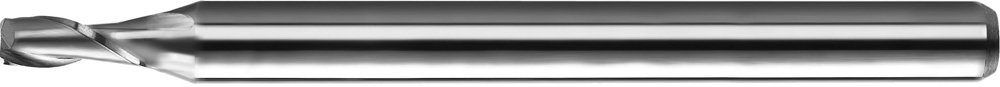 KYOCERA 1620-0800D120 Series 1620 Stub Length Square End Mill, Carbide, DLC, 30 Degree Angle, 2 Flute, 0.0800 Cutting Diameter, 1/8 Shank Diameter, 0.120 Cutting Length, 1-1/2 Length