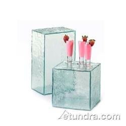 CAL-MIL 432-13-43 Faux Glass Riser, 8