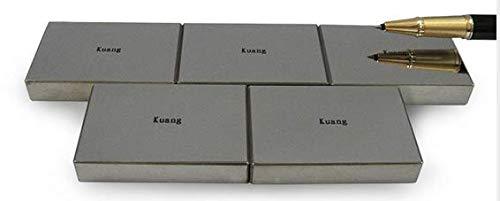 MeterTo 1pcs Professional Standard Vickers Hardness Block 700-800 HV10 Rectangle Hardness Test Block Specular Surface