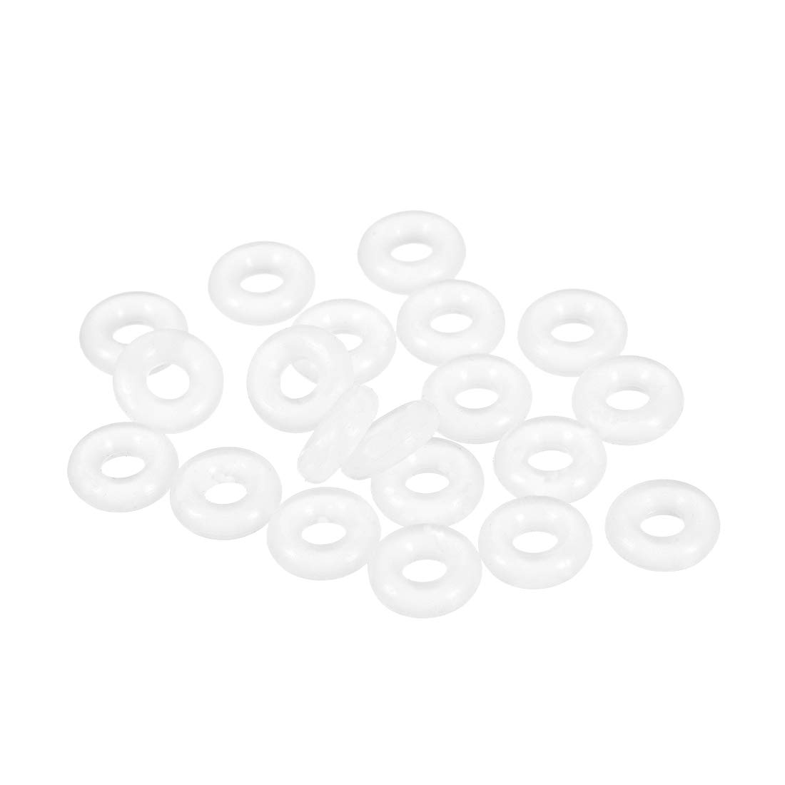 uxcell Silicone O-Rings, 4mm Inner Diameter, 10mm OD, 3mm Width, Seal Gasket 20pcs