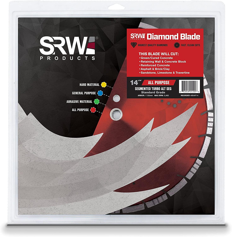SRW Products 14 Value All Purpose Segmented Turbo Alternation Diamond Blade