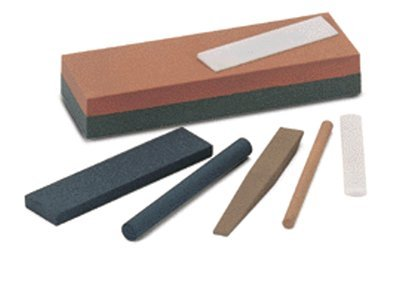 Round Edge Slip Sharpening Stones, Medium - 5 Each