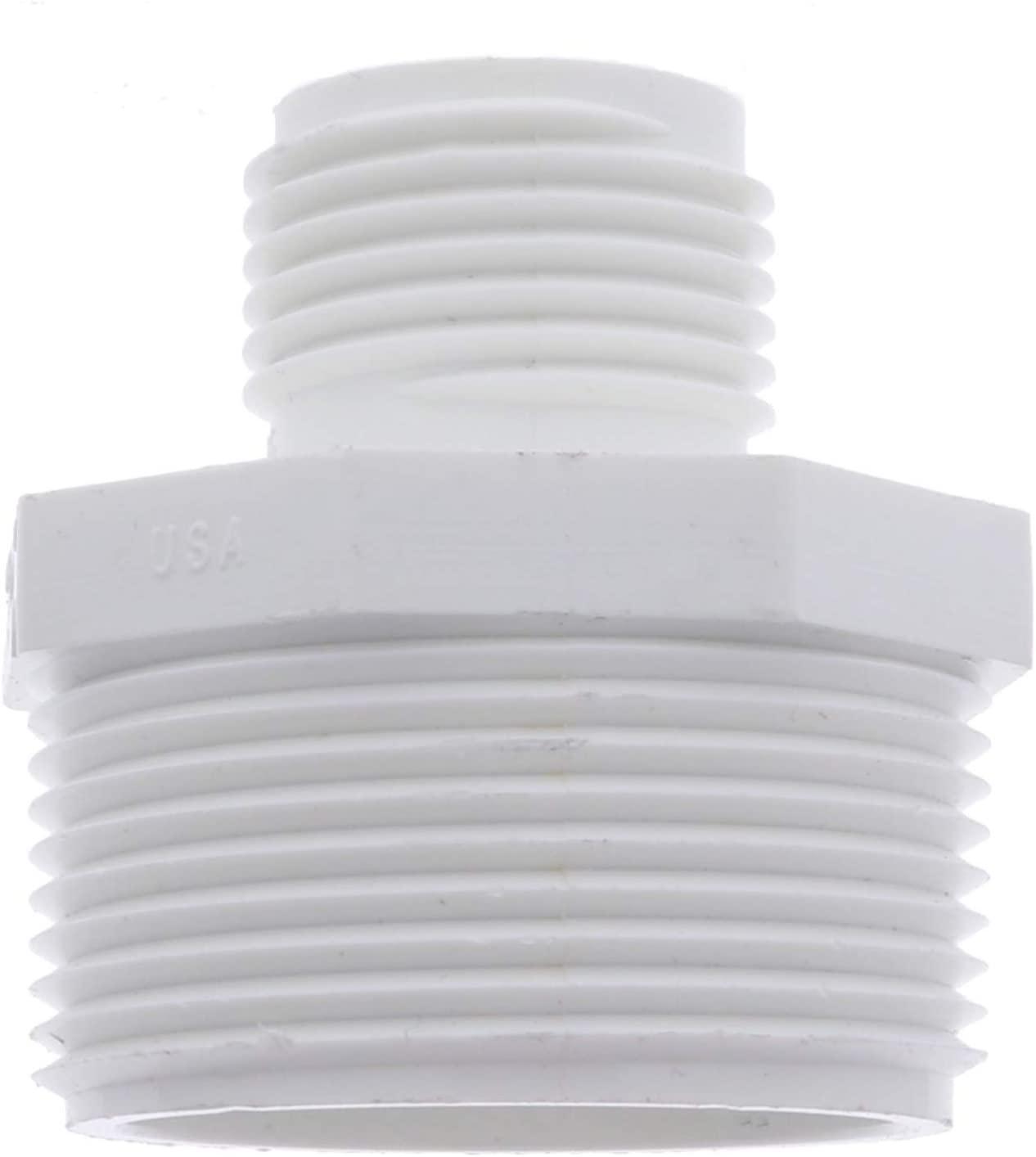 Van Enterprises PVC Garden Hose Adapter (Male 1.25