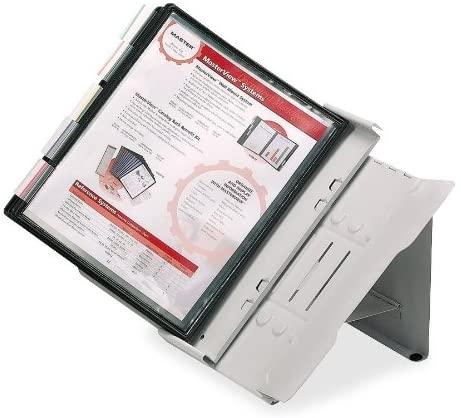 MasterView Heavy-Duty Desktop System, Gray (MATMVR24)
