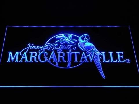 DiMike Jimmy Buffett's Margaritaville LED Neon Sign (Blue)