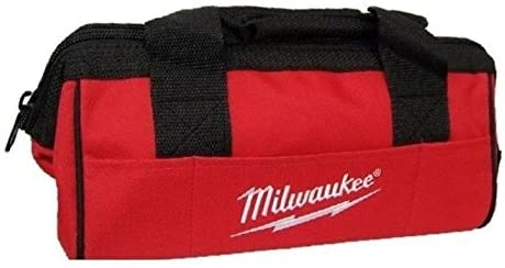 Milwaukee M12 6 Pockets Heavy Duty Canvas Contractor Tool Bag 13
