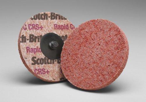 Scotch-Brite Roloc Rapid Cut Unitized Wheel TR - 2 in x NH - 9C CRS+ price per each [PRICE is per WHEEL]