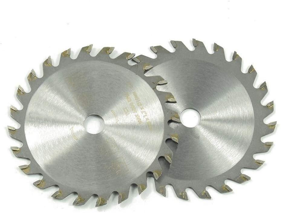 Yadianna Small Carbide Circular Saw Blade 85 10 24T Cutting Sheet Metal Plastic Combination Package 5PCS Cutting Tool