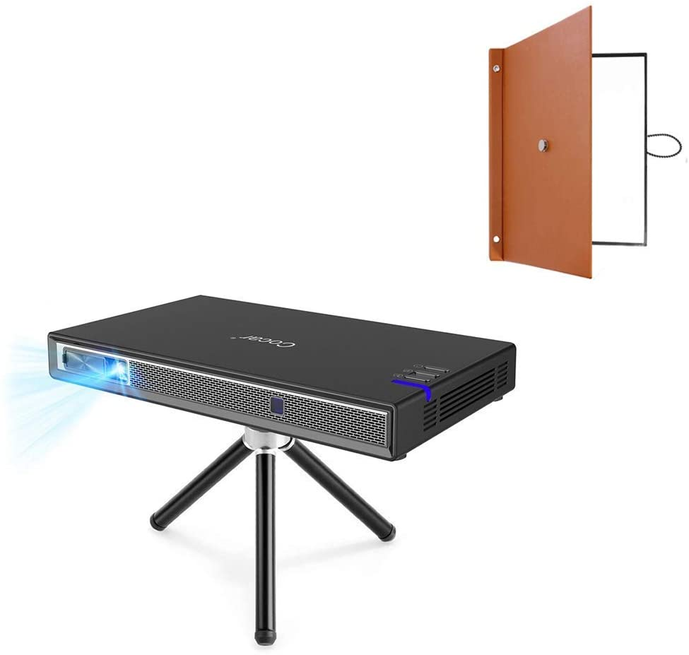 Cocar 3D Mini Projector T5 New Upgrade丨Portable Desktop Foldable Projection Screen