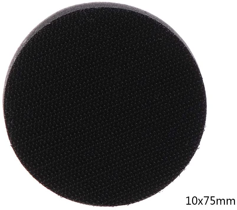 YOYOHOT Soft Sponge Interface Pad for Sanding Pads Hook and Loop Sanding Discs for Uneven Surface Polishing Power Tools Accessories