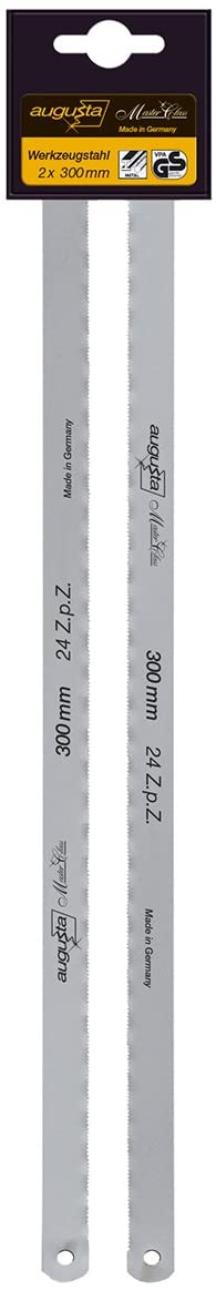 Augusta Replacement Metal Saw Blades-Set of 2, 300, 310 MM Tool Steel 2 CL 24 300 AMA