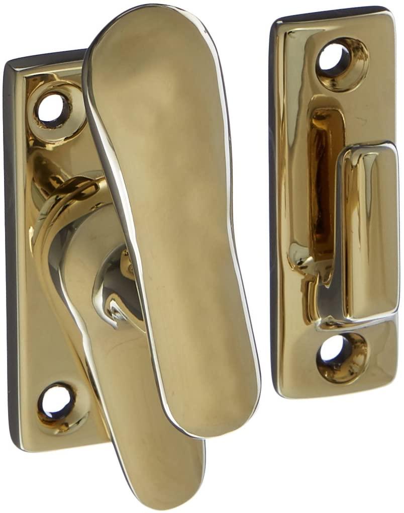 Baldwin 0494003 Casement Fastener, Lifetime Brass