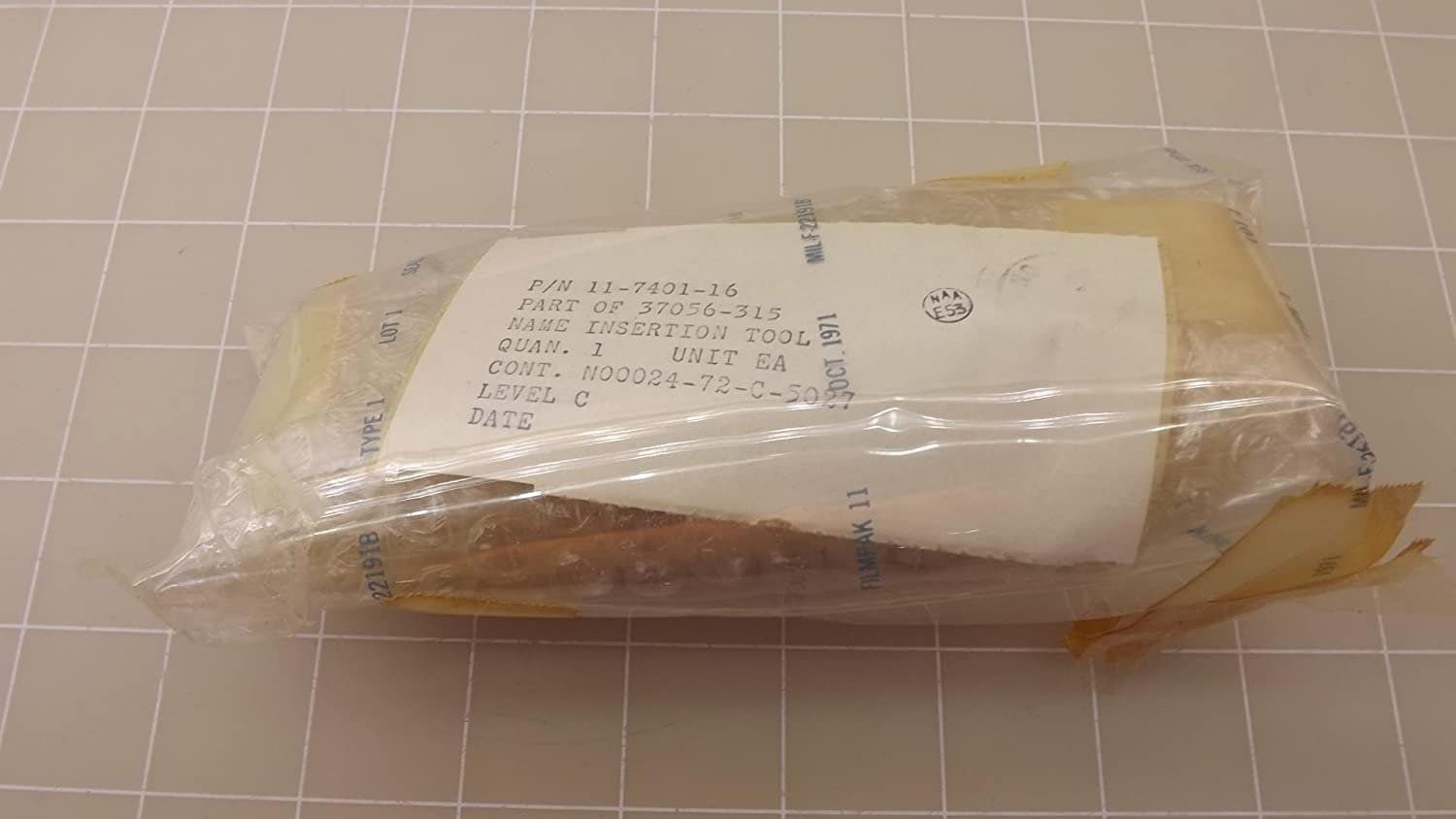 Amphenol 11-7401-16 Insertion and Removal Tool T24922