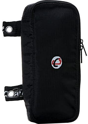 Case-it The Pouch Zippered Pencil Case with Grommets, Black, PLP-02-BLK