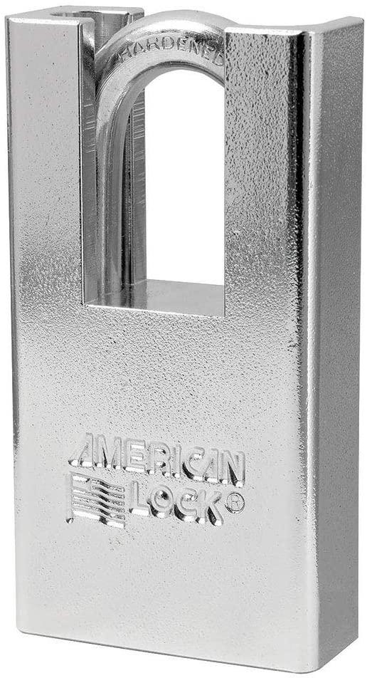American Lock A5300 Solid Steel Shrouded Padlock