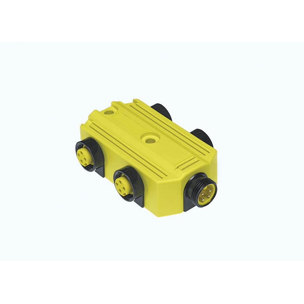 Molex DNAUX4000 Mini-Change A-Size MPIS Side Mount Parallel-Wired Port Distribution Box, 4 Pole, 4 Port