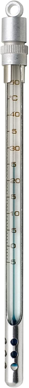 H-B Enviro-Safe Liquid-In-Glass Pocket Laboratory Thermometer; 0 to 220F, Window Metal Case, Environmentally Friendly (B60570-1100)