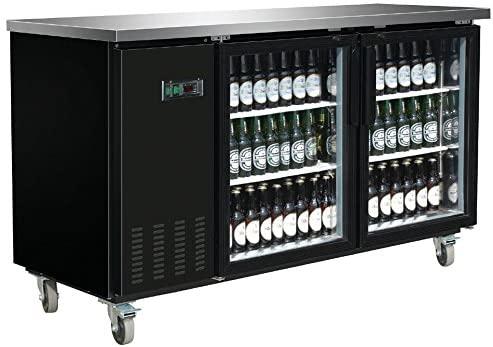 DUURA DVBB70G X-Series Back Bar Cooler, Black (Discontinued by Manufacturer)