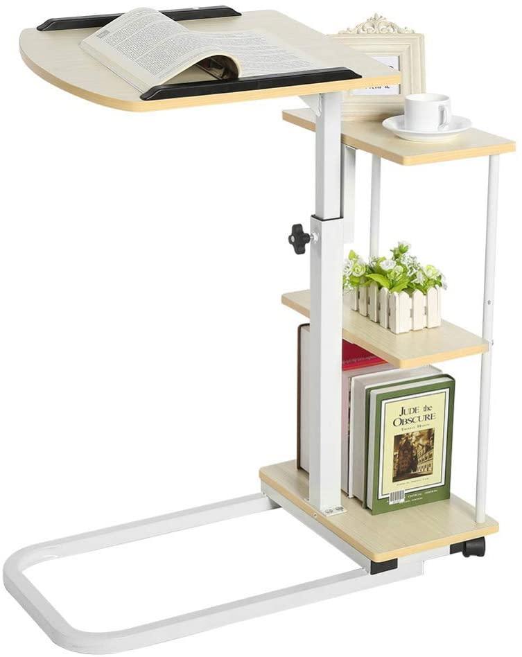 Home Side Tables Multi-Function Simple Laptop Desk Simple Desktop Home Desk Detachable Lift Bedside Study Table, BOSS LV